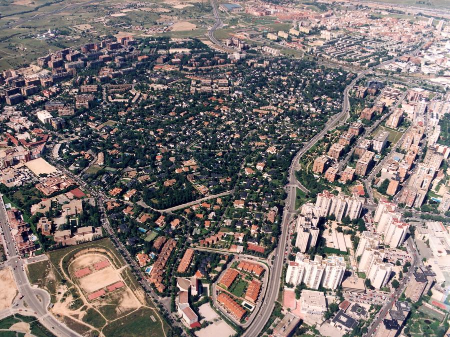 Mirasierra; Urbanización; Ciudad Satelite